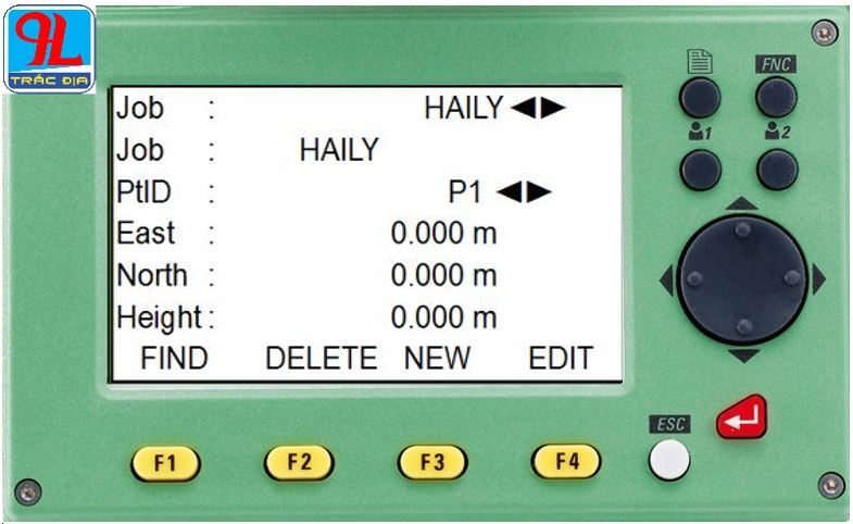 hướng dẫn sử dụng máy toàn đạc điện tử leica ts 02-điểm cứng