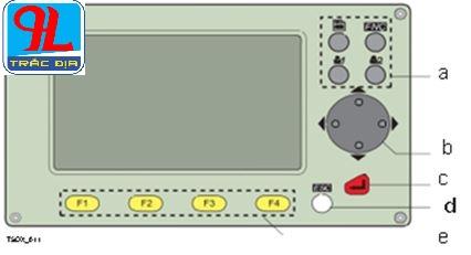 hướng dẫn sử dụng máy toàn đạc điện tử leica ts 02-bàn phím chuẩn