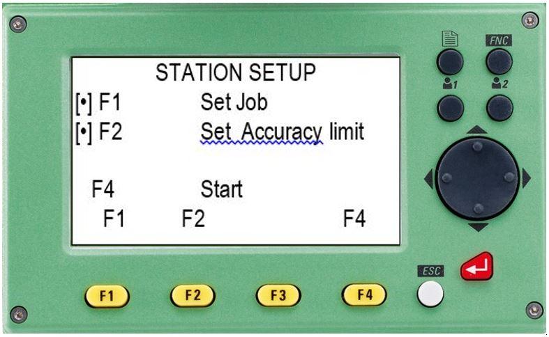 hướng dẫn sử dụng máy toàn đạc điện tử leica ts 02-chương trình station setup