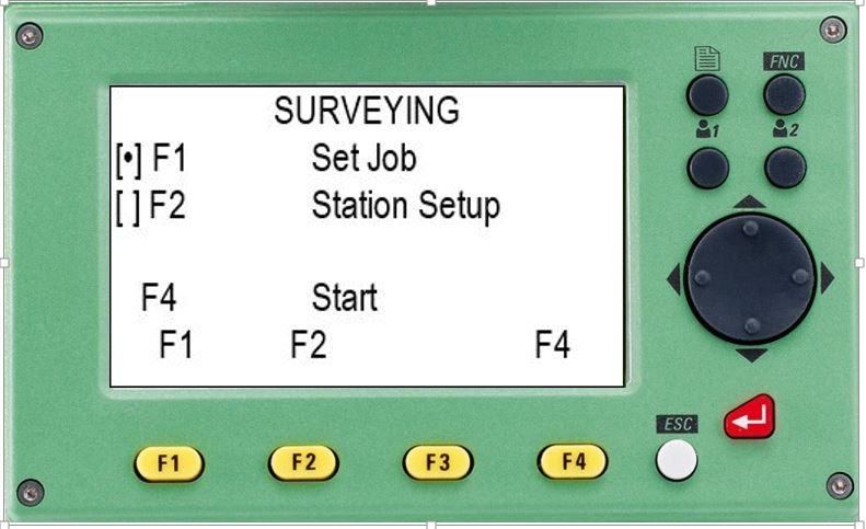 hướng dẫn sử dụng máy toàn đạc điện tử leica ts 02-chương trình suveying