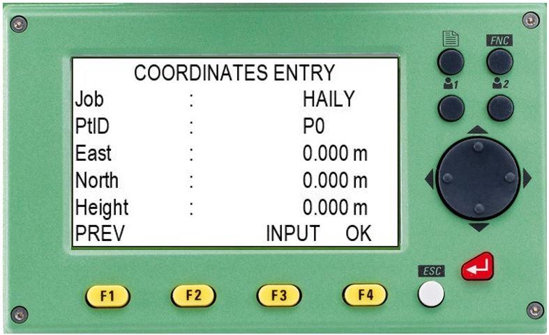 hướng dẫn sử dụng máy toàn đạc điện tử leica ts 02-coordinates entry