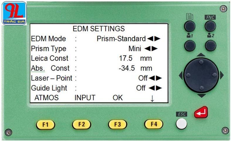 hướng dẫn sử dụng máy toàn đạc điện tử leica ts 02-gương mini
