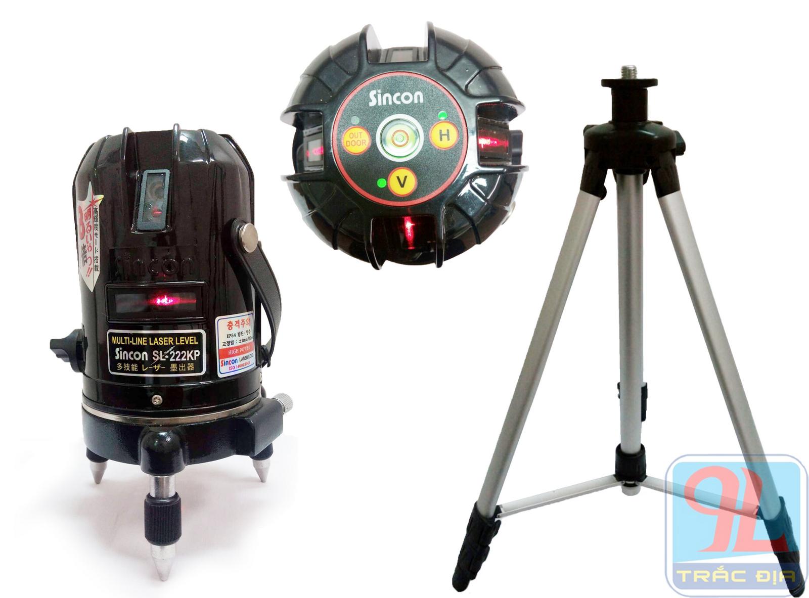máy thủy bình laser sincon sl 222KP