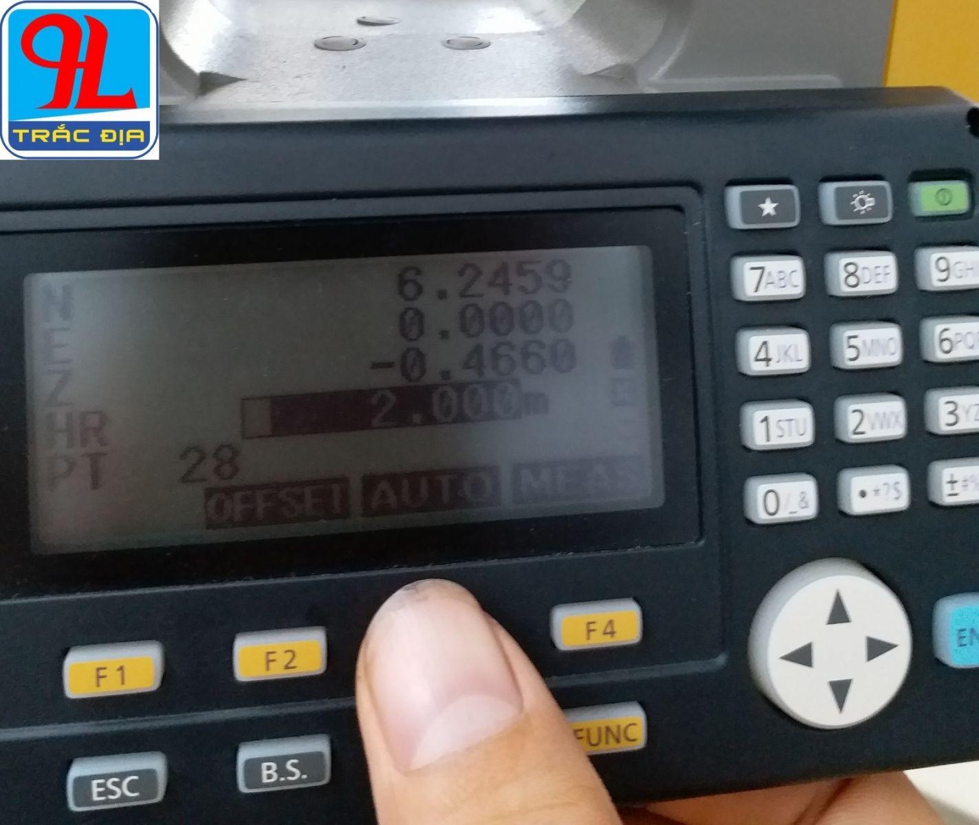 máy toàn đạc topcon es 105-chức năng auto